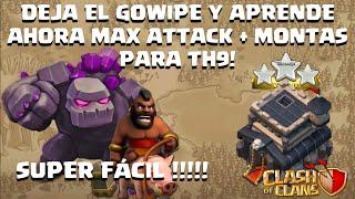 getlinkyoutube.com-100% a TH9 Con La Emboscada HoGo (Max Attack, Surgical Hogo)