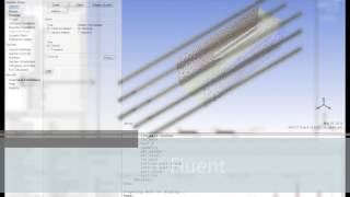 getlinkyoutube.com-Heat Transfer: Study of an array of pin fins ANSYS