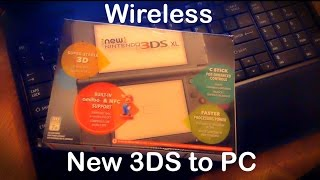 Wireless Transfer from New 3DS to Windows Computer PC