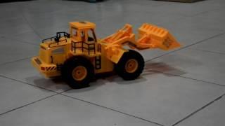 getlinkyoutube.com-RC Wheeled Loader Construction Vehicle  (MADTOY SHOP)