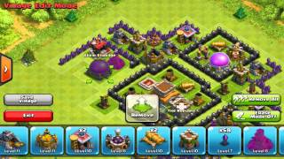 getlinkyoutube.com-Clash of Clans Th8 Base Design (With Replay)