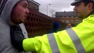 getlinkyoutube.com-Thames Valley Police in ACTION... Unlawful Arrest... Stupid Police Officers don't know the law