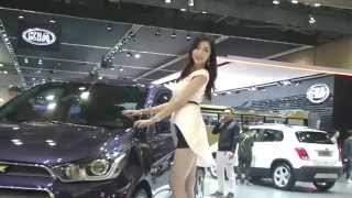 getlinkyoutube.com-[10] Sexy racing  model motor show 2015 - KoonTV