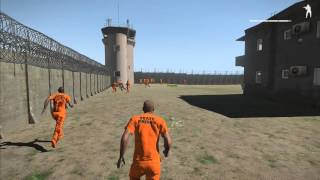 getlinkyoutube.com-EPIC ARMA- Prison Zombie Outbreak