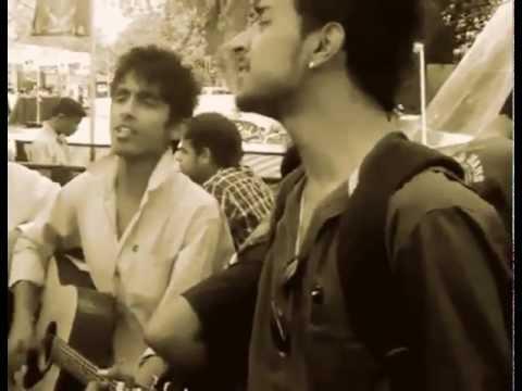 Guys singing Sajini(Jal) on Guitar - Awesome Performance