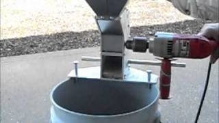 getlinkyoutube.com-Drill powered nut cracker