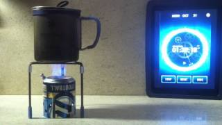 getlinkyoutube.com-Booster Alcohol stove