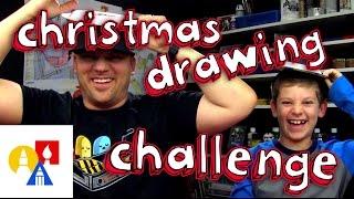 getlinkyoutube.com-Christmas Drawing Challenge!