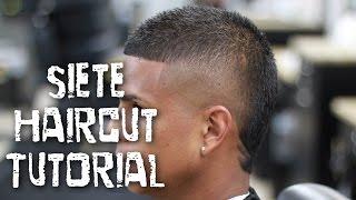 getlinkyoutube.com-Barber Tutorial! The Siete. Popular soccer players hairstyle