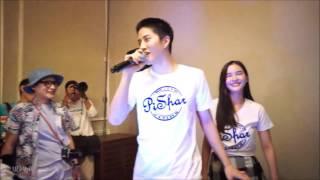 getlinkyoutube.com-[Fancam] AoMike singing Kiss Me