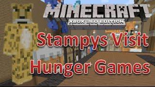getlinkyoutube.com-Minecraft xbox 360 Hunger Games   Stampy's Visit   Stampylongnose / Stampylonghead Visit