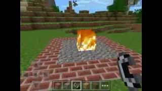 getlinkyoutube.com-How To Spawn Herobrine In Minecraft Pocket Edition!