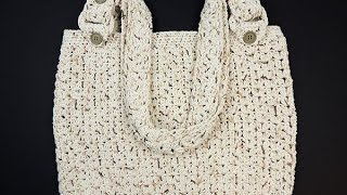 getlinkyoutube.com-Crochet: Bolso Casual