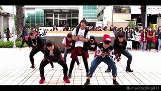 getlinkyoutube.com-150308 BTS(방탄소년단) _ Boy in Luv + Danger + War of Hormone Dance Cover by DAZZLING from Taiwan