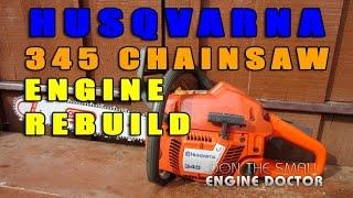 getlinkyoutube.com-Husqvarna 345 Engine Rebuild - Cylinder, Piston & Ring Replacement
