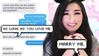 Pranking my CRUSH with 'Shower' By Becky G Lyrics!!