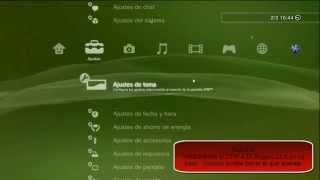 getlinkyoutube.com-(PS3) Actualizar de 4.70 a 3.55 + instalar CFW Rogero 4.55 + instalar Spoof 4.70