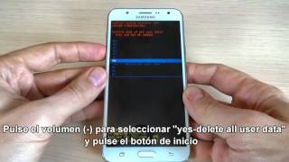 getlinkyoutube.com-Como resetear Samsung Galaxy J7