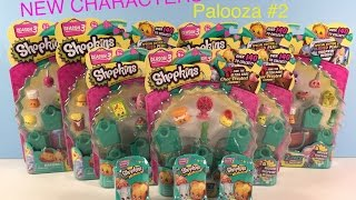 getlinkyoutube.com-Shopkins Palooza # 2 Season 3 New Characters Unboxing Review | PSToyReviews