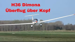 getlinkyoutube.com-Güstrower Motorsegler Dimona H36 extremer Überflug
