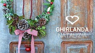 getlinkyoutube.com-Tutorial: Come realizzare una ghirlanda natalizia fai da te - La Figurina
