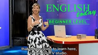 getlinkyoutube.com-Learn English Conversation - English Today Beginner Level 1 - DVD 1