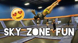 Sky Zone Fun!