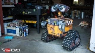 getlinkyoutube.com-Making a Real Life-Size Wall-E Robot (Geek Week!)