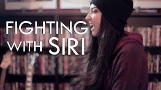 getlinkyoutube.com-FIGHTING WITH SIRI