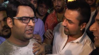getlinkyoutube.com-Kapil Sharma & Ajaz Khan FIGHT in PUBLIC | EXCLUSIVE VIDEO