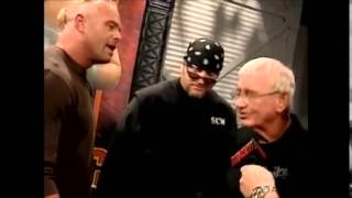 Shane Douglas Backstage Interview With