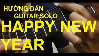 getlinkyoutube.com-Hướng dẫn: HAPPY NEW YEAR | Guitar solo | Thành Toe