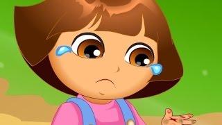 getlinkyoutube.com-دورا وموزو ( دورا الصغيرة المصابة ) العاب كرتون دورا للاطفال 2015