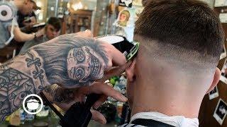 Classic Barbershop Skin Fade Haircut