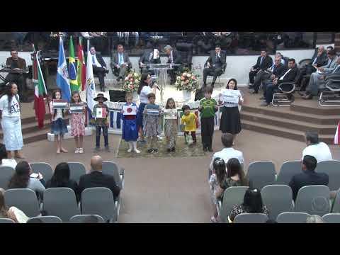 Departamento infantil - Apresentação missionária - 18 11 2018