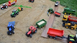 getlinkyoutube.com-BRUDER TRACTORs CLAAS McCormick John Deere New Holland