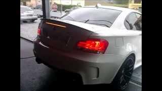 getlinkyoutube.com-BMW 1M Coupé Exhaust Sound & Acceleration