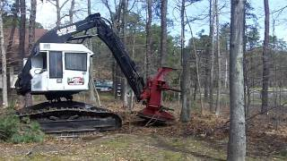 getlinkyoutube.com-Amazing Tree Removal Excavator