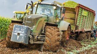 getlinkyoutube.com-Maishäckseln | Fendt Traktoren | Chopping Maize | Kumm Agrar | AgrartechnikHD