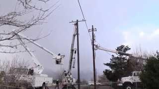 getlinkyoutube.com-Power Line Replacement
