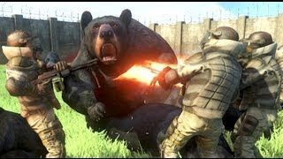 getlinkyoutube.com-Far Cry 3 Massive Scale Battles Bears Vs Pirates