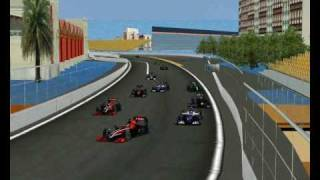F1 2010  Europe Valencia Highlithgs