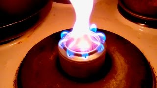 getlinkyoutube.com-寒い冬の釣り用にアルコールストーブ作ってみた - Making an alcohol stove for cold winter fishing