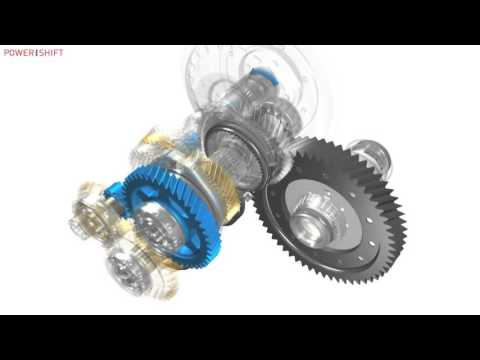 АКПП Ford Powershift, 6DCT450, MPS6