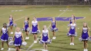 getlinkyoutube.com-WES Halftime Cheer/Dance to Roar by Katy Perry