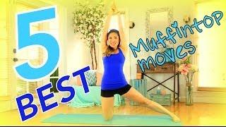 getlinkyoutube.com-5 Best Muffintop Melting Moves - Best Oblique Workout