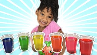 getlinkyoutube.com-Learn Colors with Colored Water for Children Toddlers | Bad Kid Learns Colours Like FunToysMedia