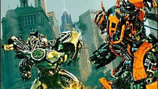 getlinkyoutube.com-Transformers dark of the moon  Bumblebee vs Soundwave (1080pHD VO)