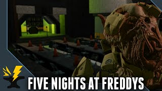 getlinkyoutube.com-Five Nights at Freddys - Halo 2 Anniversary Forge Maps