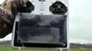 getlinkyoutube.com-Yuneec Q500 - Display enlargement / Aeronaut props / GPS loss